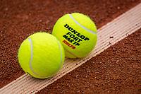 Netherlands, September 27,  2020, Beneden-Leeuwen, TV Lewabo, Competition Men's, Men's premier league, Dunlop balls<br /> Photo: Henk Koster/tennisimages.com