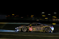 #72 HUB AUTO RACING (TWN) FERRARI 488 GTE EVO LM GTE AM  MORRIS CHEN (TWN) TOM BLOMQVIST (GBR) MARCOS GOMES (BRA)