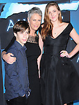 Jamie Lee Curtis & her kids at The Twentieth Century Fox World Premiere of Avatar held at The Grauman's Chinese Theatre in Hollywood, California on December 16,2009                                                                   Copyright 2009 DVS / RockinExposures