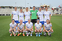 Boyds MD - April 19, 2014: FC Kansas City Team Photo.  The Washington Spirit defeated the FC Kansas City 3-1 during a regular game of the 2014 season of the National Women's Soccer League at the Maryland SoccerPlex.