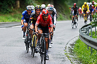 4th July 2021; Tignes, France;  QUINTANA Nairo (COL) of TEAM ARKEA - SAMSIC, KUSS Sepp (USA) of JUMBO-VISMA during stage 9 of the 108th edition of the 2021 Tour de France cycling race, a stage of 144,9 kms between Cluses and Tignes on July 4