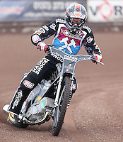 Andreas Jonsson of Lakeside Hammers - Lakeside Hammers Press & Practice Day at the Arena Essex Raceway, Pufleet - 20/03/15 - MANDATORY CREDIT: Rob Newell/TGSPHOTO - Self billing applies where appropriate - 0845 094 6026 - contact@tgsphoto.co.uk - NO UNPAID USE