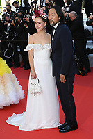 CANNES, FRANCE. July 8, 2021: Haley Lu Richardson & Kogonada at the Stillwater Premiere at the 74th Festival de Cannes.<br /> Picture: Paul Smith / Featureflash