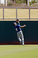 Preston Mattingly - Los Angeles Dodgers 2009 Instructional League. .Photo by:  Bill Mitchell/Four Seam Images..