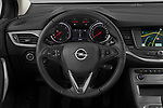 Car pictures of steering wheel view of a 2020 Opel Astra-Sport-Tourer Edition 5 Door Wagon Steering Wheel