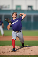 Carlos Vidal (61), from Ochlockonee Bay, Florida, while playing for the Rockies during the Baseball Factory Pirate City Christmas Camp & Tournament on December 28, 2017 at Pirate City in Bradenton, Florida.  (Mike Janes/Four Seam Images)