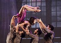 August 2013 File photo - Cirque Eloize perform at Cirkopolis 2013