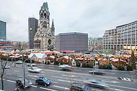 Weihnachtsmarkt am Breitscheidplatz in Berlin.<br /> Am 19. Dezember 2017 jaehrt sich zu ersten Mal der LKW-Anschlag von 2016. Bei dem Anschlag starben zwoelf Menschen, 55 Besucher des Weihnachtsmarktes wurden zum Teil lebensgefaehrlich verletzt.<br /> 17.12.2017, Berlin<br /> Copyright: Christian-Ditsch.de<br /> [Inhaltsveraendernde Manipulation des Fotos nur nach ausdruecklicher Genehmigung des Fotografen. Vereinbarungen ueber Abtretung von Persoenlichkeitsrechten/Model Release der abgebildeten Person/Personen liegen nicht vor. NO MODEL RELEASE! Nur fuer Redaktionelle Zwecke. Don't publish without copyright Christian-Ditsch.de, Veroeffentlichung nur mit Fotografennennung, sowie gegen Honorar, MwSt. und Beleg. Konto: I N G - D i B a, IBAN DE58500105175400192269, BIC INGDDEFFXXX, Kontakt: post@christian-ditsch.de<br /> Bei der Bearbeitung der Dateiinformationen darf die Urheberkennzeichnung in den EXIF- und  IPTC-Daten nicht entfernt werden, diese sind in digitalen Medien nach §95c UrhG rechtlich geschuetzt. Der Urhebervermerk wird gemaess §13 UrhG verlangt.]