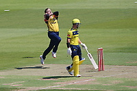 Sam Cook in bowling action for Essex during Hampshire Hawks vs Essex Eagles, Vitality Blast T20 Cricket at The Ageas Bowl on 16th July 2021