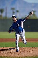 Kansas City Royals pitcher Scott Alexander (54) during an instructional league game against the San Francisco Giants on October 23, 2015 at the Papago Baseball Facility in Phoenix, Arizona.  (Mike Janes/Four Seam Images)