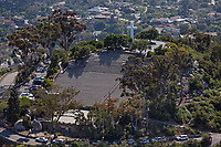 aerial photograph Mount Helix Park, La Mesa,  San Diego County, California