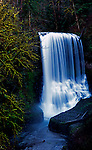 Middle North Falls, Silver Springs State Park, Oregon near Silverton in Willamette Valley.