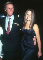 Peter Fonda, daughter Bridget Fonda,1997, Photo By Michael Ferguson/PHOTOlink