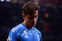 Paulo Dybala of Juventus dejection <br /> Lyon 26/02/2020 OL Stadium Decines <br /> Football Champions League 2019//2020 <br /> Round of 16 1st Leg <br /> Olympique Lionnais Lyon - Juventus <br /> Photo Federico Tardito / Insidefoto