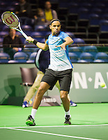 09-02-13, Tennis, Rotterdam, qualification ABNAMROWTT, Ouanna