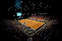 September 13, 2014, Netherlands, Amsterdam, Ziggo Dome, Davis Cup Netherlands-Croatia, Doubles, overall<br /> Photo: Tennisimages/Henk Koster