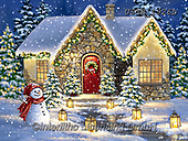 Dona Gelsinger, CHRISTMAS SANTA, SNOWMAN, WEIHNACHTSMÄNNER, SCHNEEMÄNNER, PAPÁ NOEL, MUÑECOS DE NIEVE, paintings+++++,USGE1926B,#x#