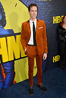 """LOS ANGELES, USA. October 15, 2019: Dustin Ingram at the premiere of HBO's """"Watchmen"""" at the Cinerama Dome, Hollywood.<br /> Picture: Paul Smith/Featureflash"""