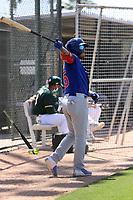 Yohendrick Pinango - Chicago Cubs 2021 spring training (Bill Mitchell)