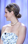 Katharine McPhee, hair detail, attend the 2018 Tony Awards Nominations Announcement at The New York Public Library for the Performing Arts on May 1, 2018 in New York City.