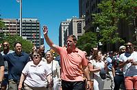 "Boston Mayor Marty Walsh at LGBTQ Pride ""Looking Back Loving Forward"" Boston , MA 6.8.19"