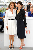CANNES, FRANCE - MAY 26: (L-R) Actresses Jacqueline Bisset and Marine Vacth attend the 'Amant Double (L'Amant Double')' Photocall during the 70th annual Cannes Film Festival