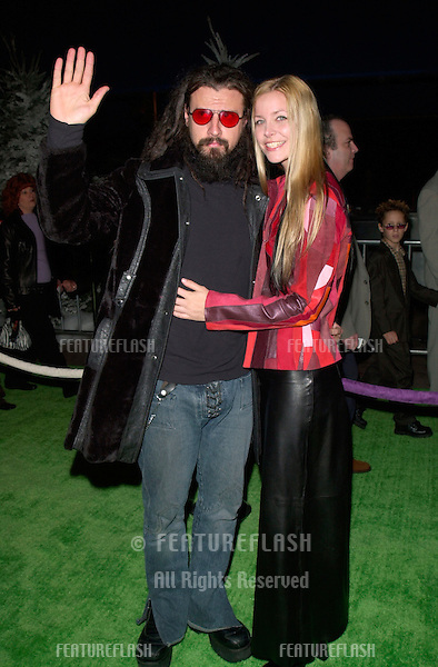 Actor ROB ZOMBIE & wife at the world premiere, at Universal City, of Dr. Seuss' How The Grinch Stole Christmas..08NOV2000.  © Paul Smith / Featureflash