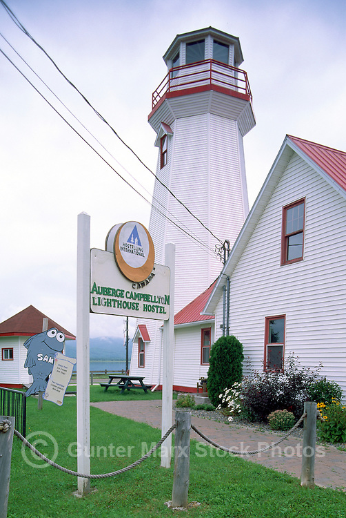 Campbellton, NB, New Brunswick, Canada - the Lighthouse Hostel