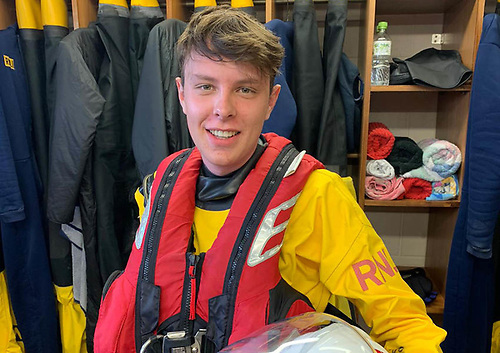 Kinsale lifeboat volunteer David Carter who spotted the casualty on the rocks | Credit: RNLI/Kinsale
