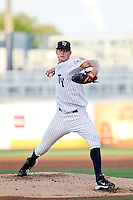 May 1, 2010: Pitcher Andrew Brackman of the Tampa Yankees delivers a pitch during a game at George M Steinbrenner Field in Tampa, FL. Tampa is the Florida State League High Class-A affiliate of the New York Yankees. Photo By Mark LoMoglio/
