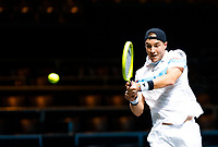 Rotterdam, The Netherlands, 11 Februari 2020, ABNAMRO World Tennis Tournament, Ahoy, <br /> Jan-Lennard Struff (GER).<br /> Photo: www.tennisimages.com