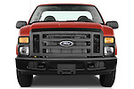 Straight front view of a 2008 Ford f250 Regular Cab