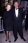 Lee Radziwill and Herbert Ross attend the Lincoln Center salutes Shirley MacLaine at Avery Fisher Hall on May 8, 1995 in New York City.