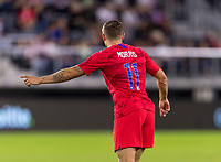 WASHINGTON, DC - OCTOBER 11: Jordan Morris #11 of the United States calls for the ball during a game between Cuba and USMNT at Audi Field on October 11, 2019 in Washington, DC.