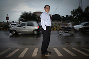 Gee-Woong Sung, Executive Director, POSCO-India poses for a portrait in Bhubneshwar, Orissa, India.