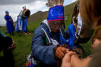 """Rowan, a five-year-old autistic child, visits a shaman with his parents during a horseback expedition across Mongolia. Rowan, who has been nicknamed """"The Horse Boy"""", embarked on a therapeutic journey of discovery with his parents to visit a succession of shaman healers in one of the most remote regions in the world. Following Rowan's positive response to a neighbour's horse, Betsy, and some reaction to treatment by healers, Rowan's parents hoped that the Mongolian shamanistic rituals along the route and the prolonged contact with horses would help to unlock their son's autism and assist his development.."""
