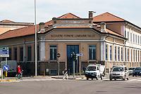 Sesto San Giovanni (Milano), ex area industriale delle acciaierie Falck --- Sesto San Giovanni (Milano), former industrial site of Falck steelworks