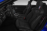 Front seat view of a 2018 BMW M4 M4 CS 2 Door Coupe front seat car photos