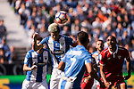 Martin Mantovani of Deportivo Leganes in action during their La Liga match between Deportivo Leganes and Sevilla FC at the Butarque Municipal Stadium on 15 October 2016 in Madrid, Spain. Photo by Diego Gonzalez Souto / Power Sport Images