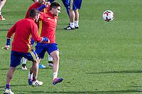 Spainsh Marc Bartra during the training of the spanish national football team in the city of football of Las Rozas in Madrid, Spain. November 09, 2016. (ALTERPHOTOS/Rodrigo Jimenez) ///NORTEPHOTO.COM