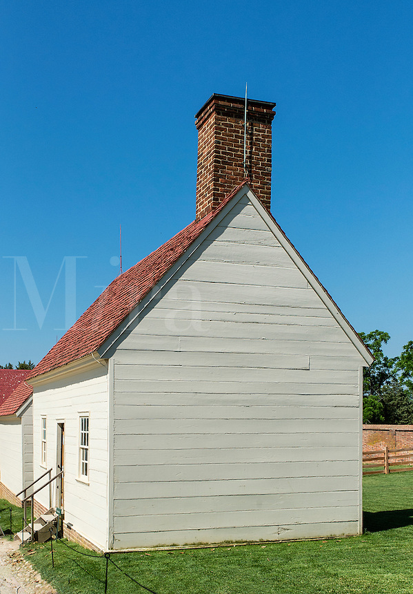 Washhouse, Washington estate mansion at Mt Vernon, Virginia, USA