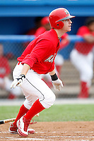 July 19, 2009:  Second Baseman Devin Goodwin of the Batavia Muckdogs during a game at Dwyer Stadium in Batavia, NY.  The Muckdogs are the NY-Penn League Short-Season Class-A affiliate of the St. Louis Cardinals.  Photo By Mike Janes/Four Seam Images