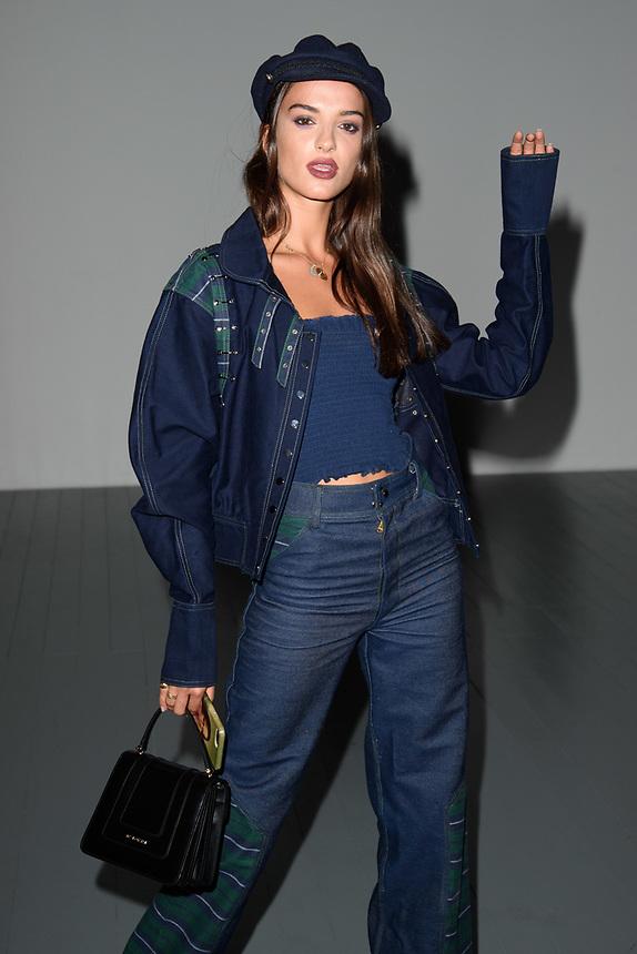 Gabrielle Caunesil<br /> front row at the Bora Aksu London Fashion Week SS18 catwalk show, London<br /> <br /> ©Ash Knotek  D3431  14/09/2018