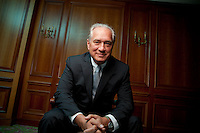Jim Clifton, Chairman and CEO of Gallup, poses for the photographer, 27th August 2013