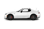 Car Driver side profile view of a 2017 Mazda MX-5-RF Club 2 Door Targa Side View
