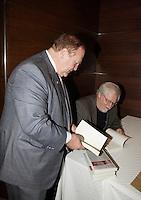 Montreal (Qc) CANADA - Sept 29 2008 -Marcel Aubut, Rejean Tremblay