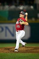 Fort Wayne TinCaps pitcher Kevin Kopps (33) during a game against the Dayton Dragons on August 25, 2021 at Parkview Field in Fort Wayne, Indiana.  (Mike Janes/Four Seam Images)
