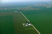 Crops on prairie