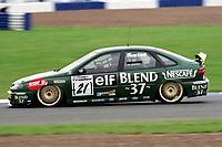 1998 British Touring Car Championship. #21 Tommy Rustad (NOR). Nescafe Blend 37. Renault Laguna.