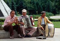 Straßenmusikanten in Sofia, Bulgarien
